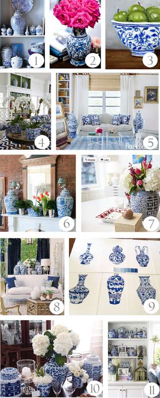 Decorating With Blue And White Inspiration Http Emilyaclark