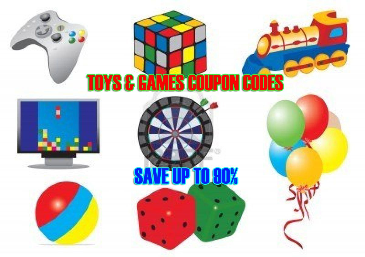 >> Click on pictures to go to Toys & games coupon codes ...