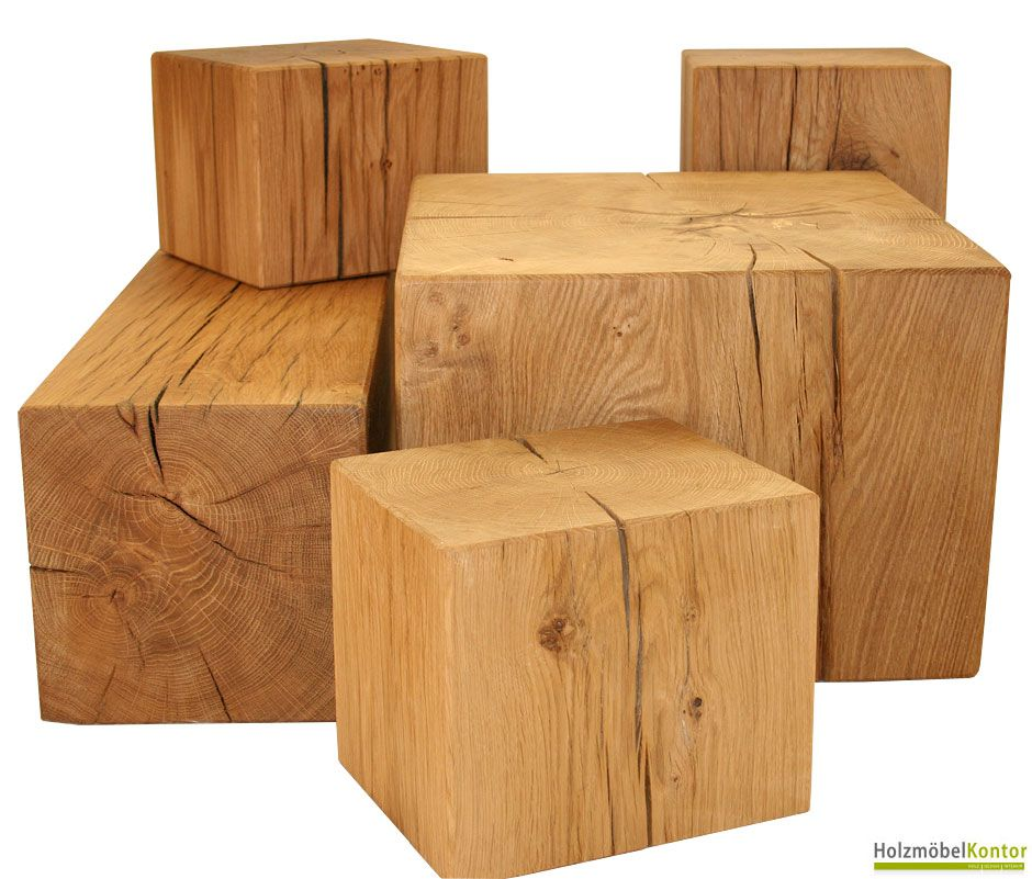 massivholz block echtes massivholz als m bel n tzlich und sehr dekorativ zugleich holzblock. Black Bedroom Furniture Sets. Home Design Ideas