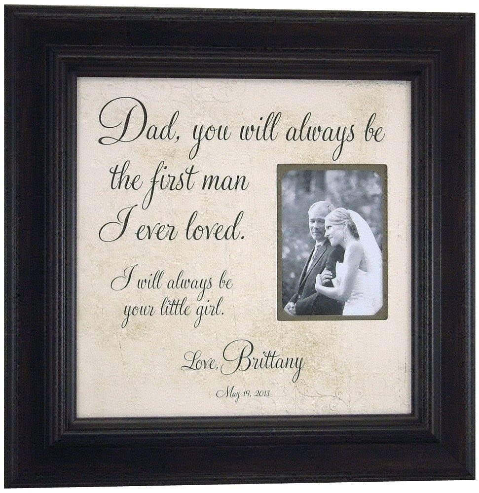 Father Of The Bride Gift Father S Daughter Quote Dad