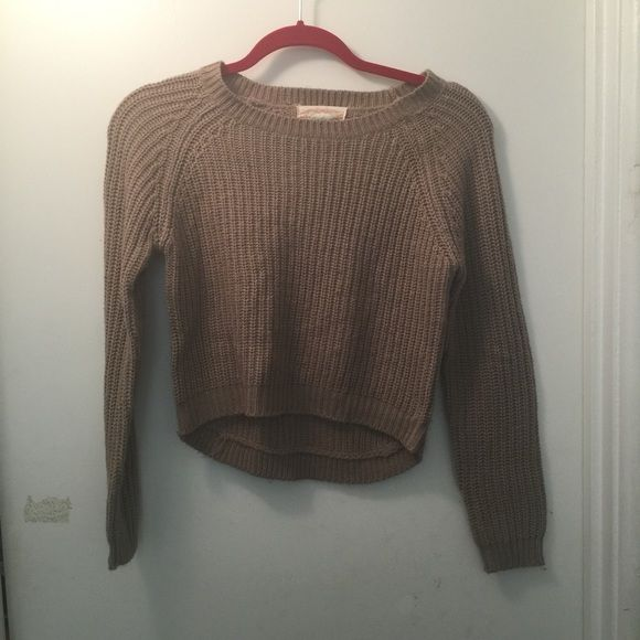 Windsor - Taupe Cropped Sweater | Windsor F.C., Taupe and Customer ...