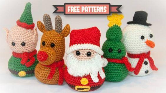 Amigurumi Christmas Patterns : Free crochet amigurumi christmas ornament patterns this link