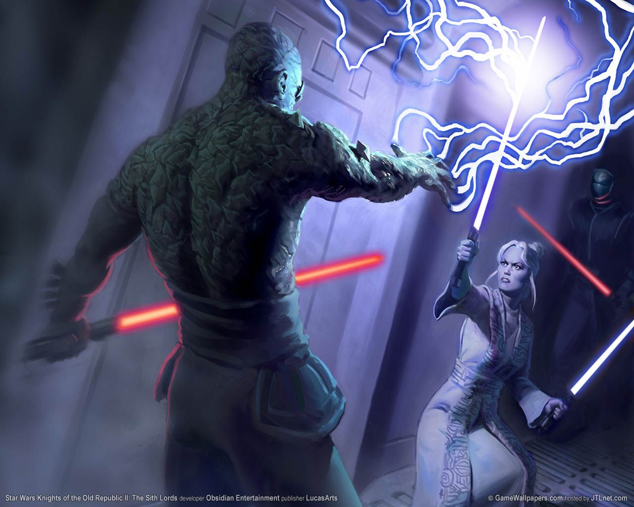 Darth Sion Vs Master Atris Star Wars Wallpaper Star Wars Images Star Wars Sith