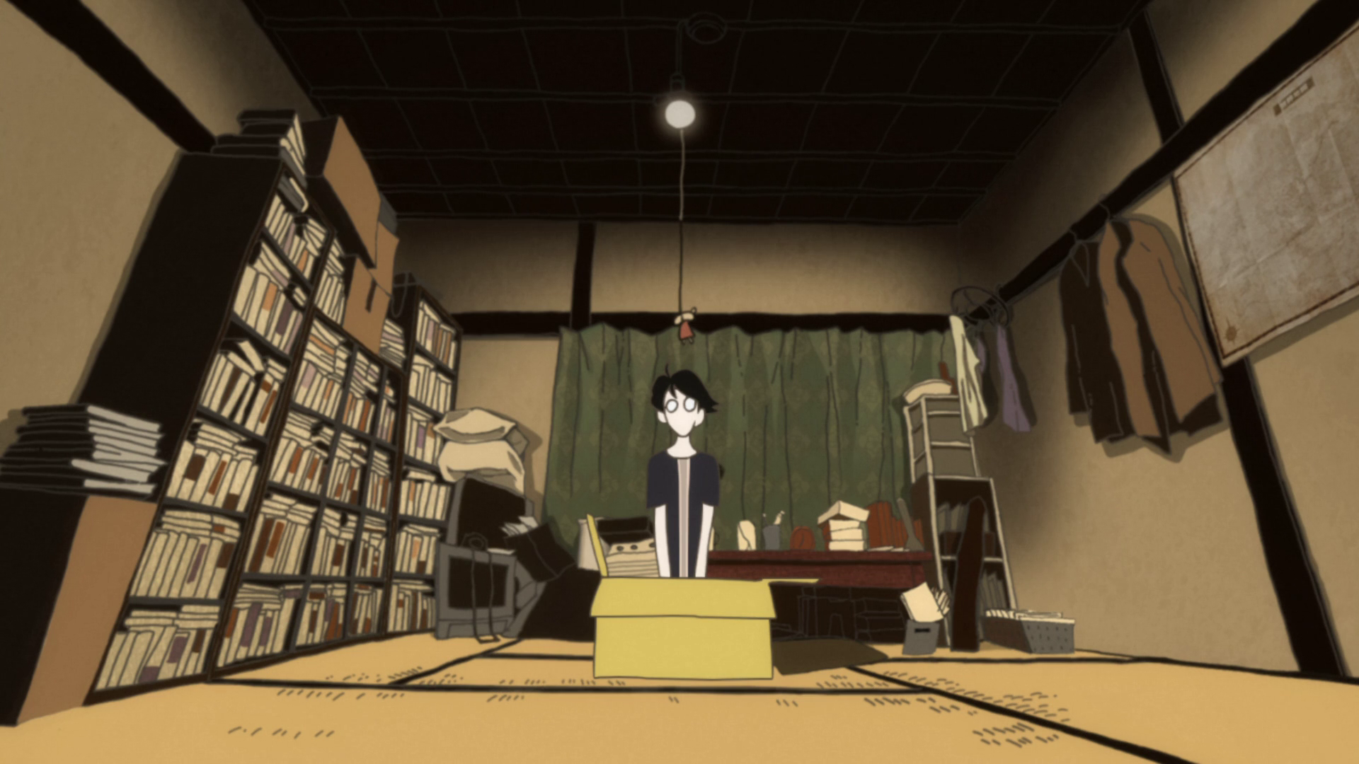 My favourite shots from The Tatami Galaxy   Tatami galaxy, Home screen pictures, Anime background