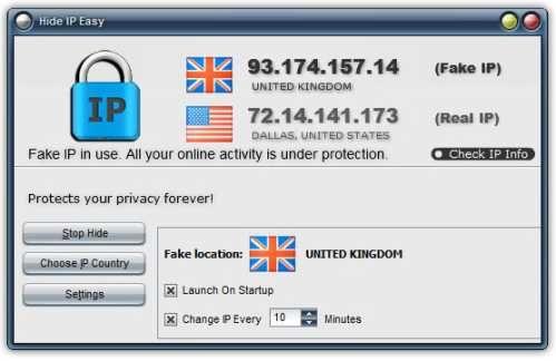 hide all ip serial key
