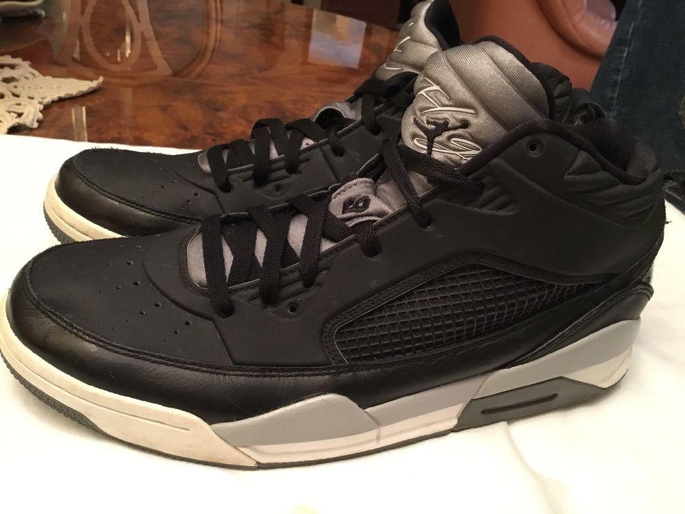 e530ead6269c NIKE AIR JORDAN FLIGHT 9 MENS BLACKWHITE GREY SNEAKERS SZ 11 654262-003   fashion  clothing  shoes  accessories  mensshoes  athleticshoes (ebay link)