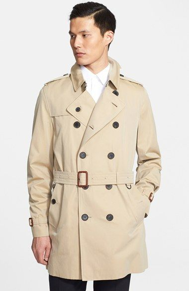 b223c0332b5e Burberry London  Britton  Cotton Trench Coat available at  Nordstrom ...