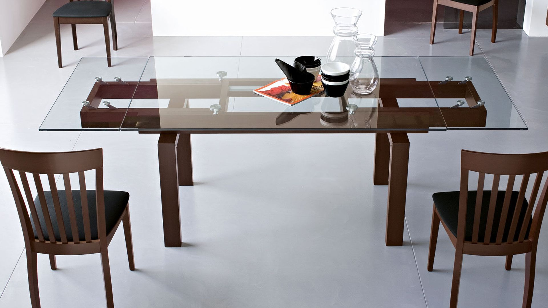 Hyper By Calligaris Glass Dining Room Table Traditional Dining Room Table Modern Dining Table