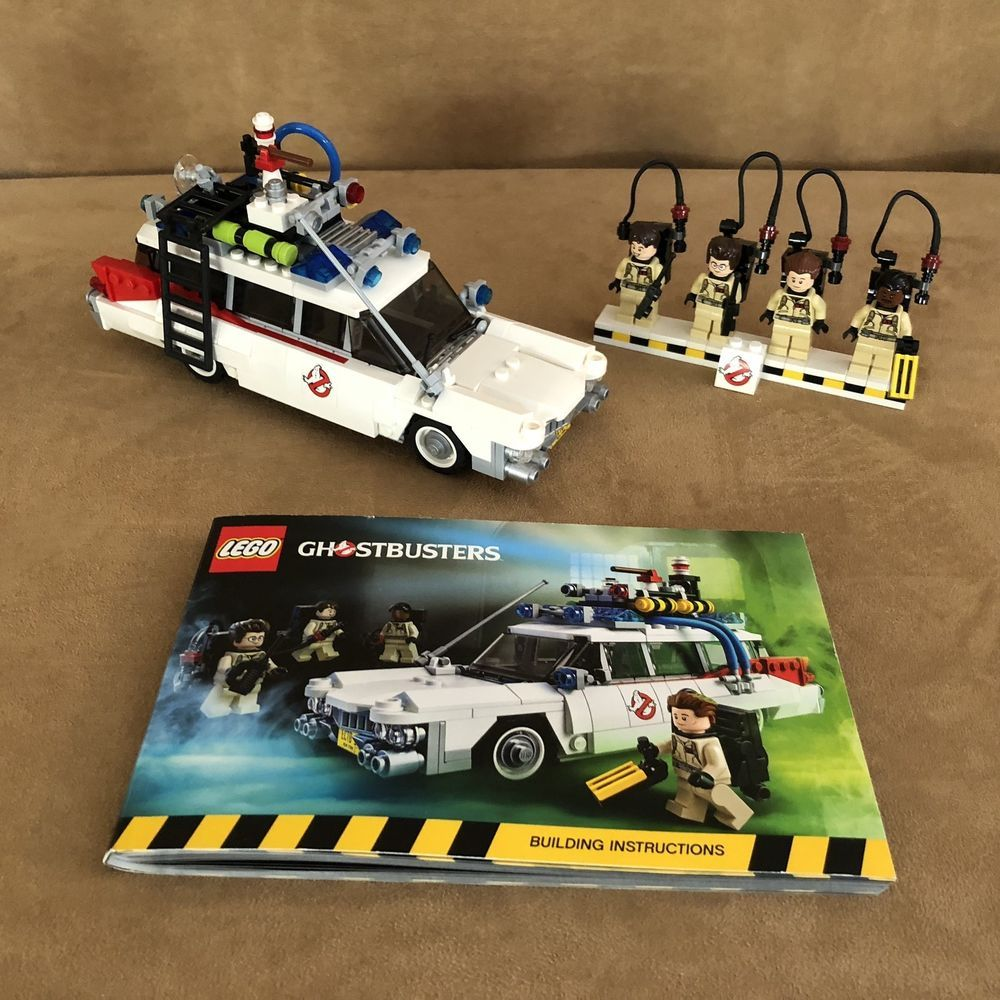 Ghostbusters toys car   LEGO Ghostbusters Ecto Ideas Complete th Anniversary