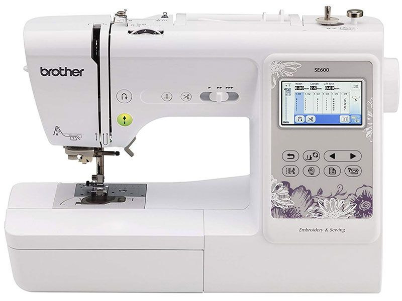 Brother SE600 Computerized Sewing and Embroidery Machine