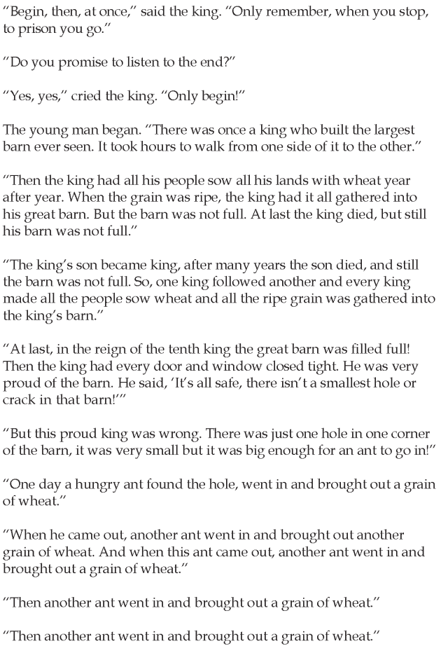 Grade 5 Reading Lesson 23 Short Stories – The Story Without An End ...