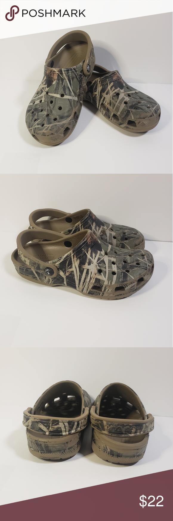 Camo Crocs in 2020 | Crocs, Women's