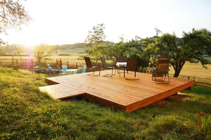 ▷ 1001+ conseils et design pratiques pour construire une terrasse ...