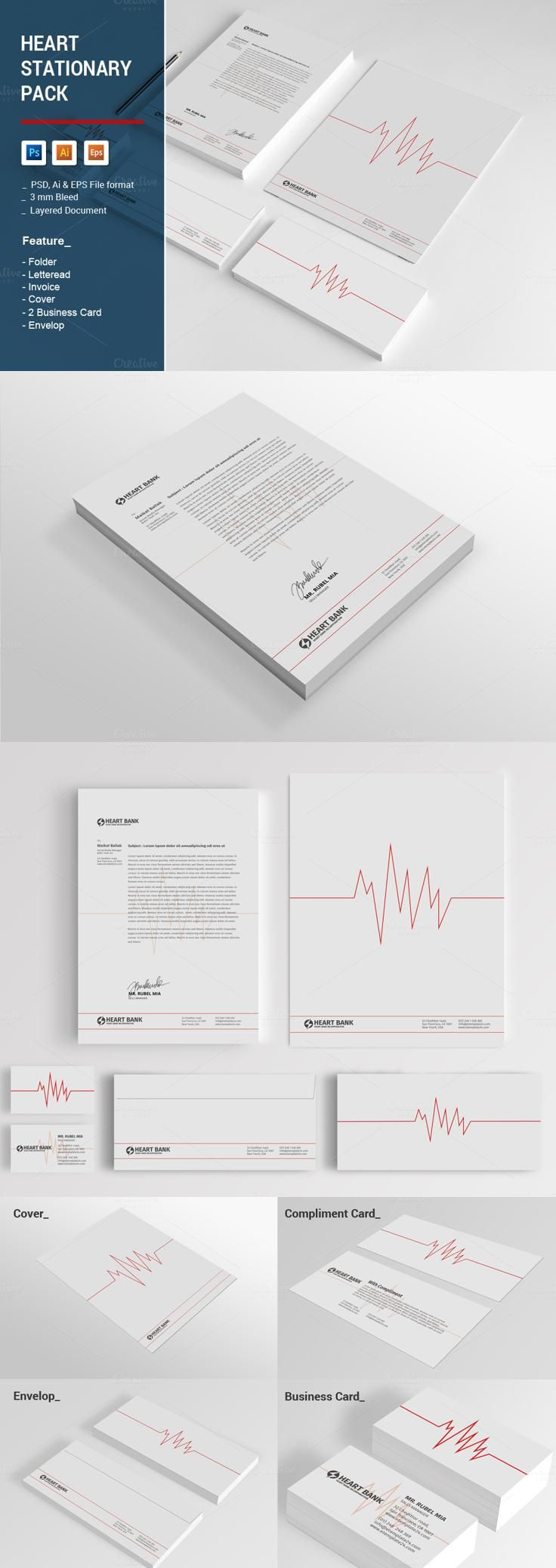 heart stationary pack (with images) stationery templates it manager resume examples catchy objective for college student internship