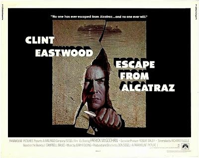 Escape From Alcatraz Clint Eastwood Good Old Movies Escape Movie