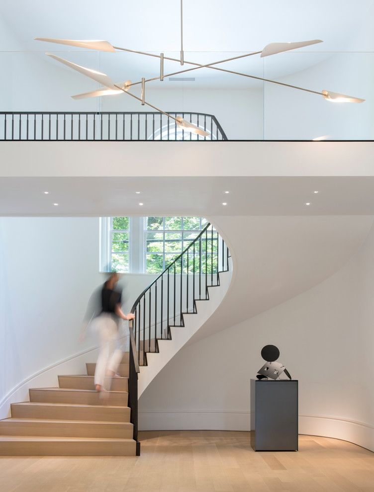 Fayerweather Street Residence by Stern McCafferty stairs