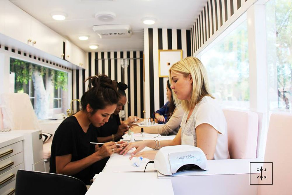 This Nail Salon Truck Will Actually Drive to Wherever You