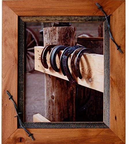 Enjoy exclusive for My Barnwood Frames - Sagebrush Series Western Wood Picture Frame  Barbed Wire Accents (8x10 Inch) online - Thechicfashionideas#8x10 #accents #barbed #barnwood #enjoy #exclusive #frame #frames #inch #online #picture #sagebrush #series #thechicfashionideas #western #wire #wood