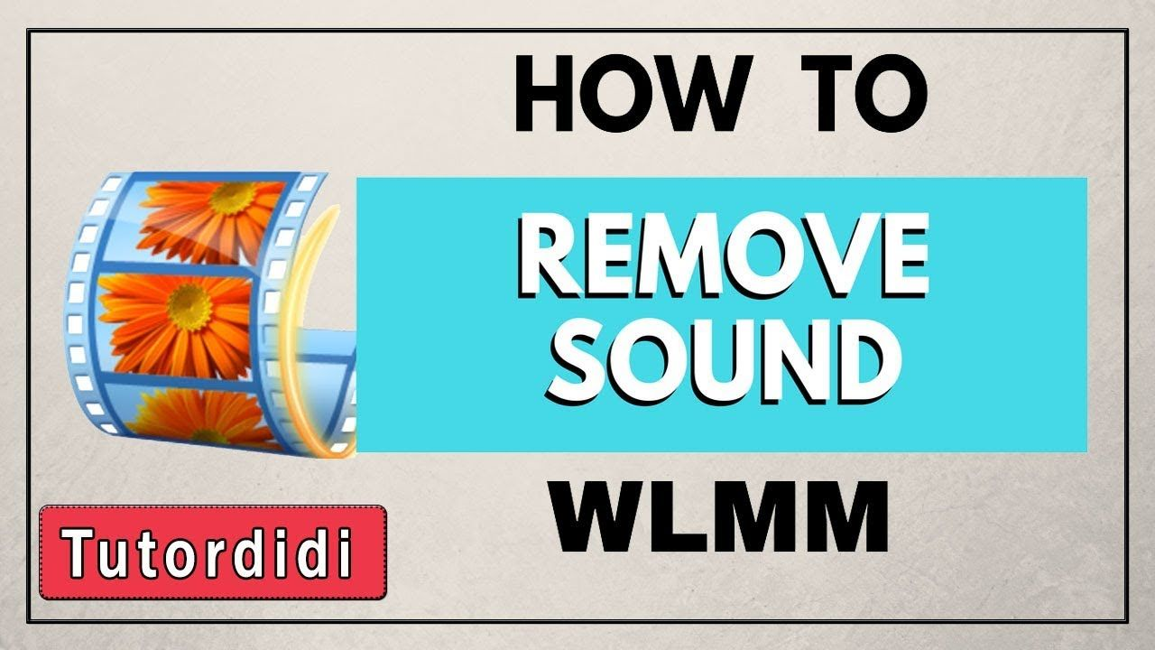 Learn How To Remove Audio From Video In Windows Live Movie Maker Aka Windows Movie Maker For Best Tutorials On Wlmm S Windows Movie Maker Good Tutorials Movies
