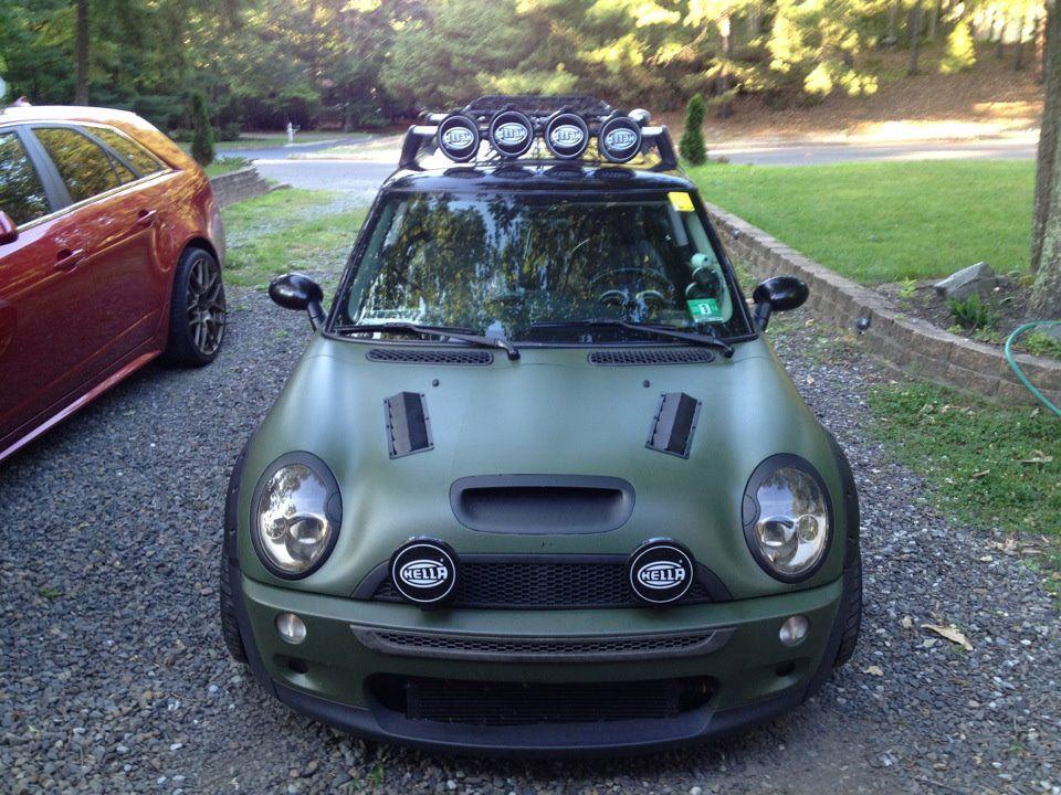 Mini Cooper Apocalypse Zombie Military Car Theme Ideas