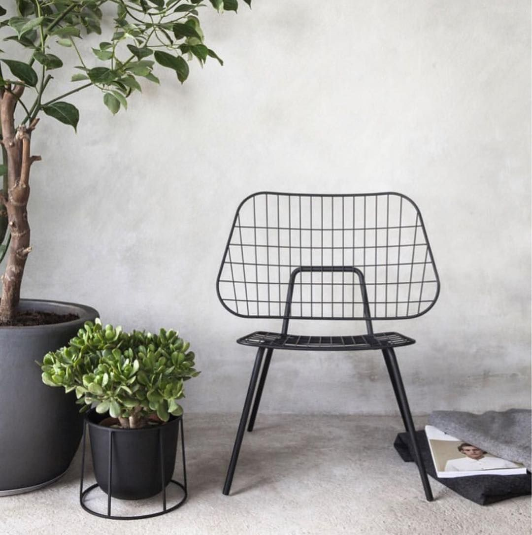 String Chair String Chair Menu Planter Both By Menuworld Making The