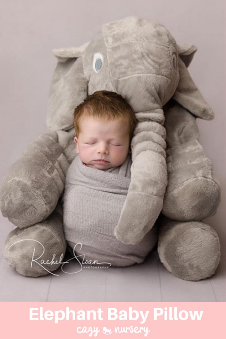 grey elephant pillow online