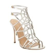 Sergio Rossi Puzzle Caged Evening Sandal