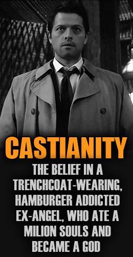 supernatural castianity Supernatural funny, Supernatural