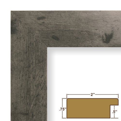 "4x10 Picture / Poster Frame, Smooth Wood Grain Finish, 2"" Wide, Gray Rustic Pine (74023) by Craig Frames Inc., http://www.amazon.com/dp/B004L6DGXC/ref=cm_sw_r_pi_dp_MzIgqb17GPAJW"