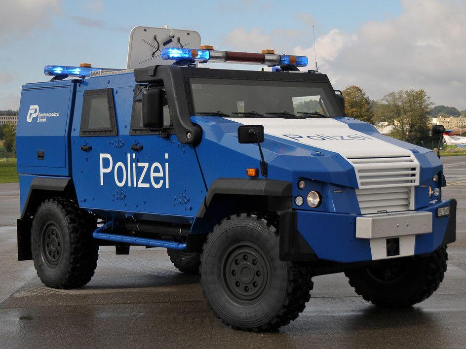 Panzerwagen Polizei