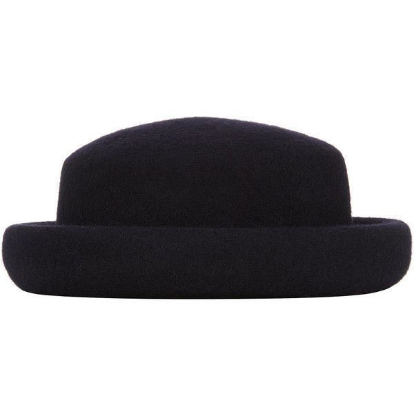 c2dbe4599c4b3 TOPSHOP Felt Pork Pie Hat ( 50) ❤ liked on Polyvore featuring accessories