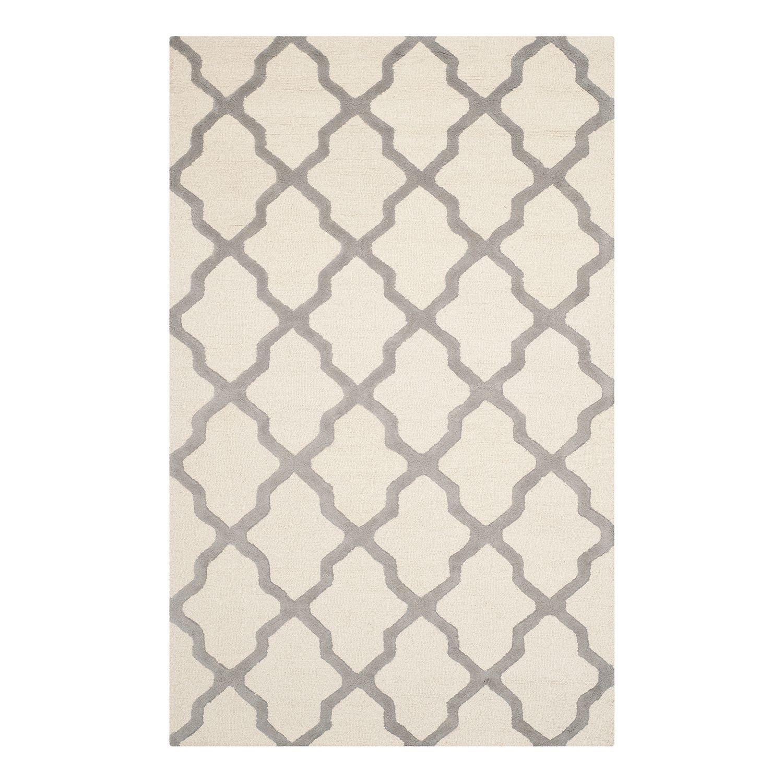 Teppich Ava Sand Grau 152 x 243 cm Safavieh Jetzt bestellen unter