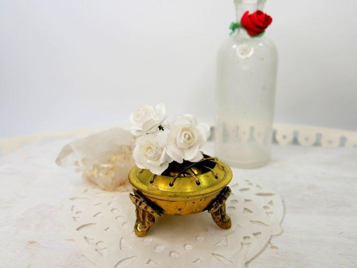 Bridal Hairpin  Bridal Hair Accessories  Flower Hairpin  Bridal Rose Hair  Floral Hairpin  WedAcc-167 #brautblume