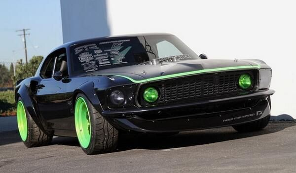 1969 Ford Mustang Rtr X Side View Jpg Ford Mustang Mustang