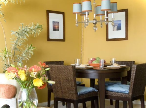 dining room paint colors yellow | Home Decor | Pinterest | Dining ...