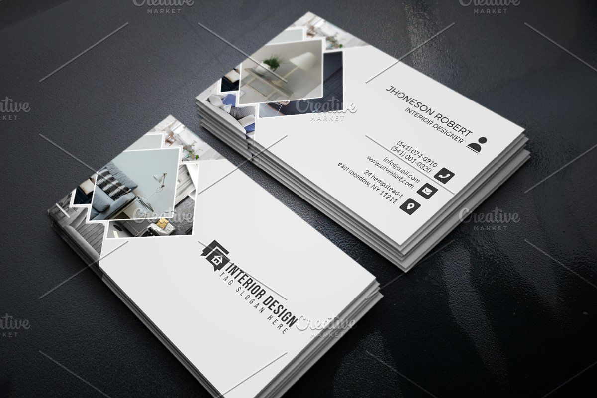 Interior Designer Business Card Interior Design Business Interior Designer Business Card Modern Business Cards