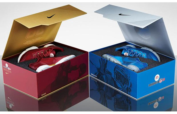"""EA Sports x Nike Lunar TR1 Madden 13 """"Jerry Rice"""" and """"Calvin Johnson"""""""