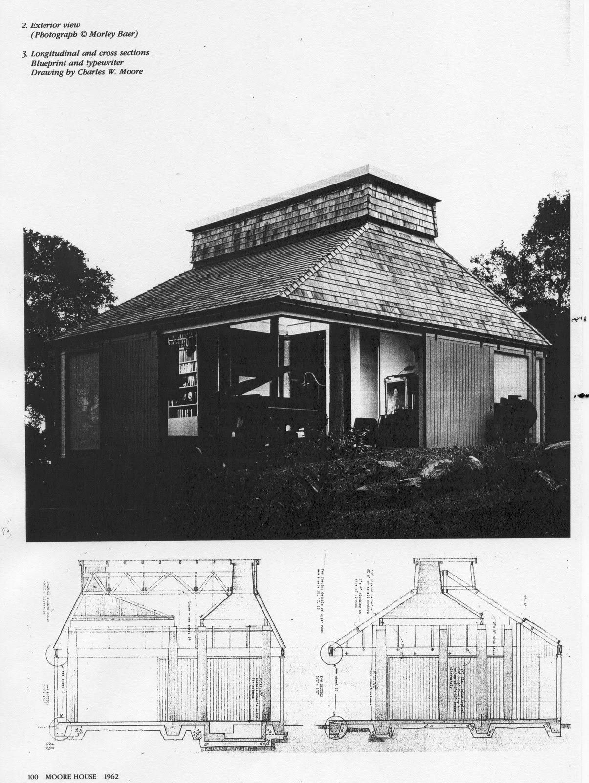Archetypes And Free Plan Orinda House By Charles W Moore Moore House Architecture Arch House