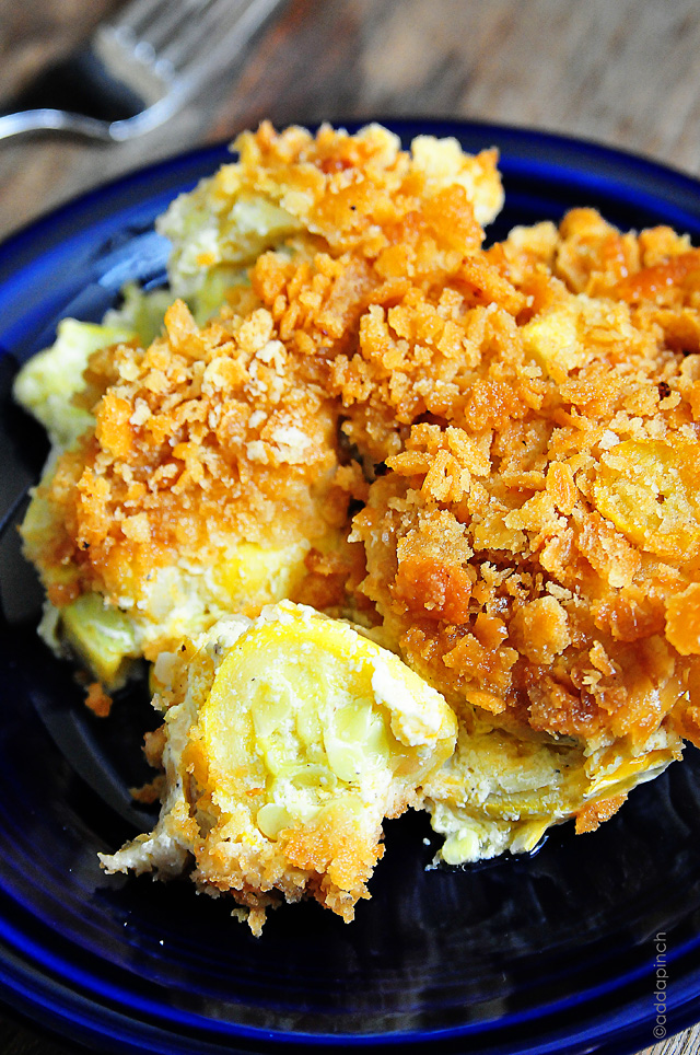 Photo of SQUASH CASSEROLE – (Free Recipe below)