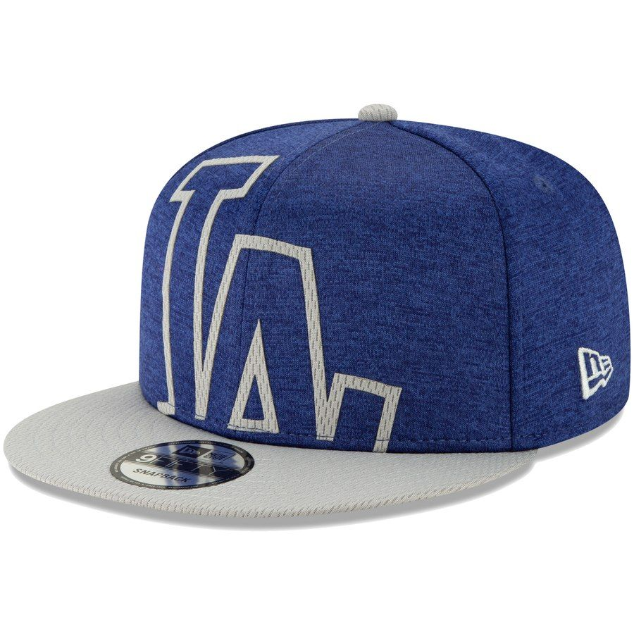 225d2e580 Men's Los Angeles Dodgers New Era Royal/Gray Stadium Collection Overshadow  9FIFTY Snapback Hat, $29.99
