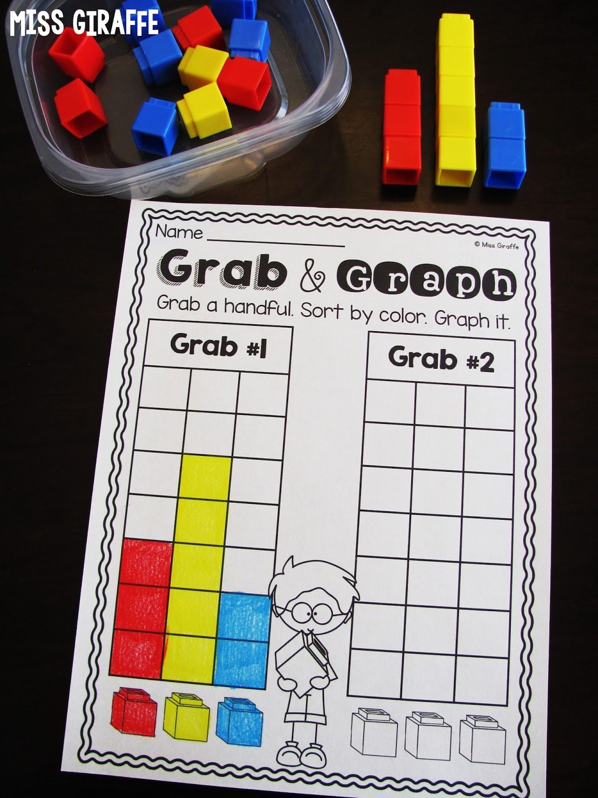 Graphing And Dataysis In First Grade
