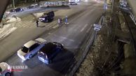 بیتفاوتی رانندهها در برابر تصادف وحشتناک عابر پیاده  فیلم