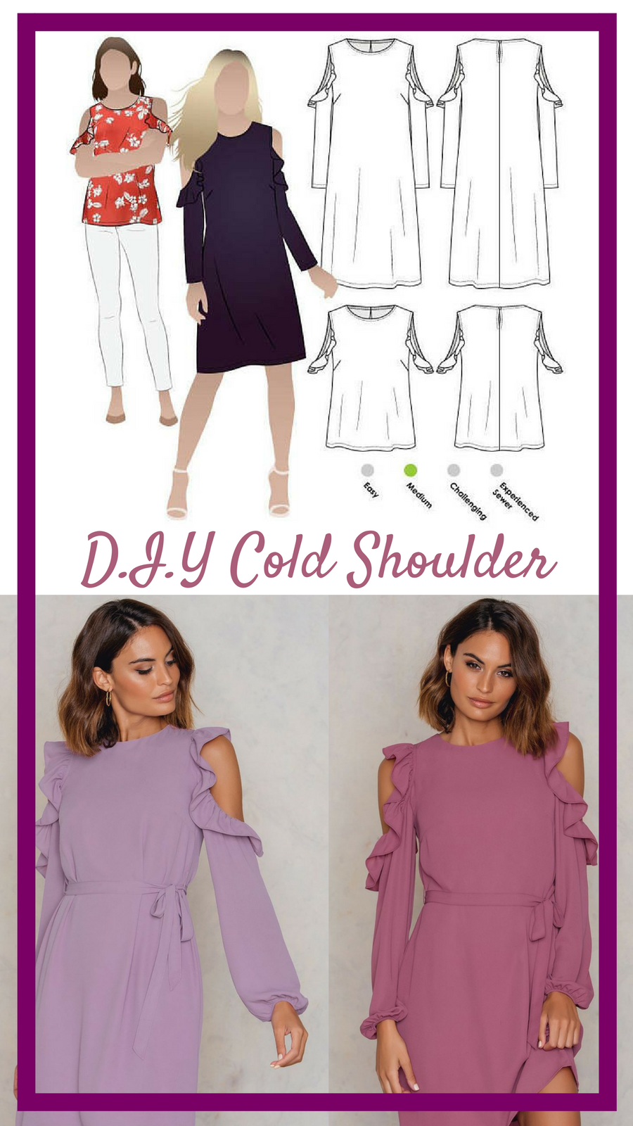 A great sewing pattern to achieve the cold shoulder look my a great sewing pattern to achieve the cold shoulder look my favorite trend for the jeuxipadfo Images