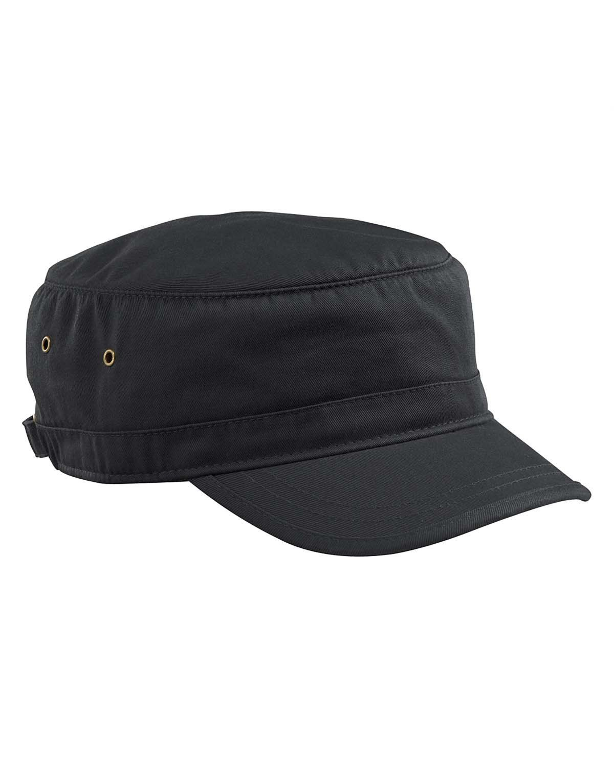 ebe5e54b18a econscious Organic Cotton Twill Corps Hat-One Size (Black ...