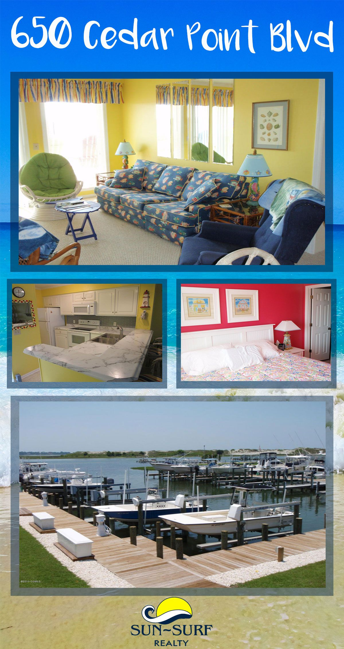 FOR SALE: This 2 bedroom, 2 bath condo is located in Cedar Point ...