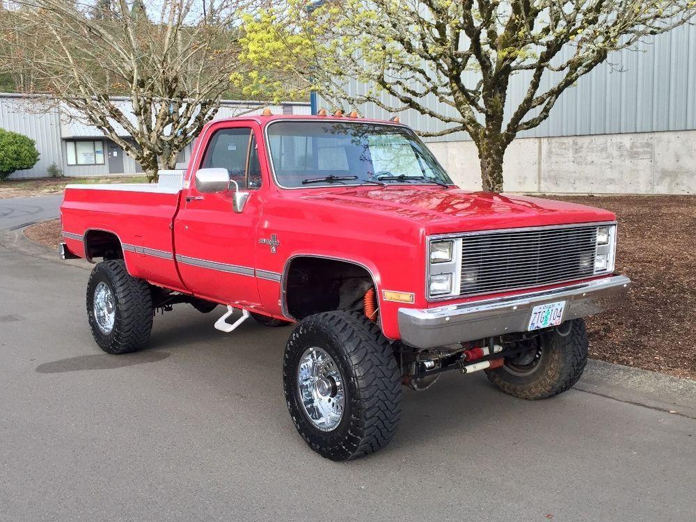 1986 Chevrolet C/K Pickup 3500 SILVERADO 4WD LIFTED BIG BLOCK SOLID AXLE