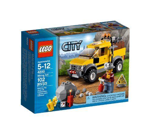 Lego City 4200 - Gruben - Geländewagen » LegoShop24.de