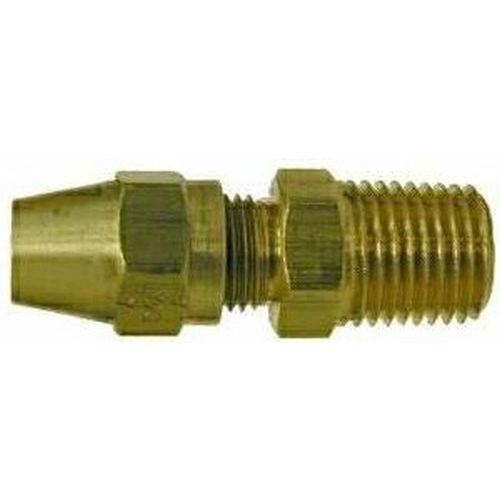 38217 | Midland | 1/4 X 1/8 COPPER-AB X MIP ADAPT | Brass Fittings | D.O.T. Air Brake Copper Tubing | Male Adapter