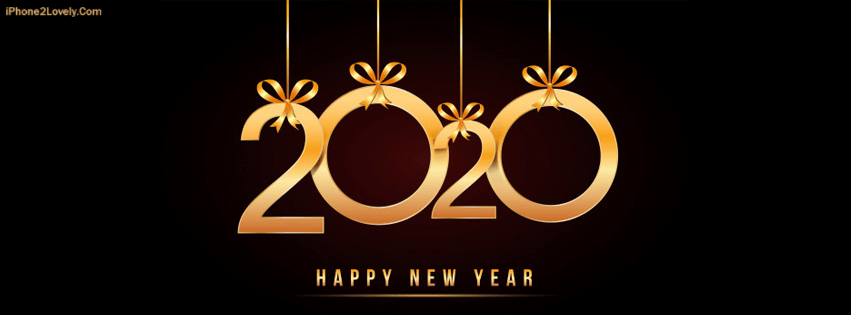 Happy New Year 2020 Facebook Cover Photo Happy new year
