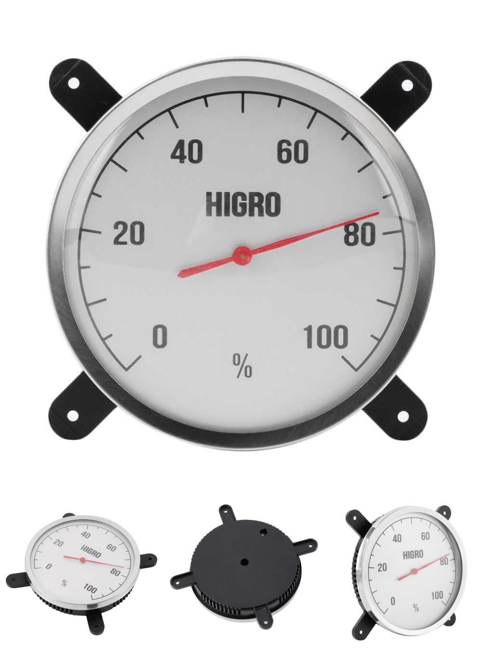 Visit To Buy New Hightemperature Measuring Stainless Steel Indoor Outdoor Thermometer Hygrometer Sauna Bath L Room Thermometer Sauna Room Outdoor Thermometer